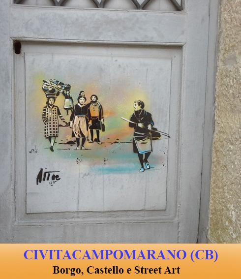 CIVITA CAMPOMARANO BORGO CASTELLO E STREET ART 13