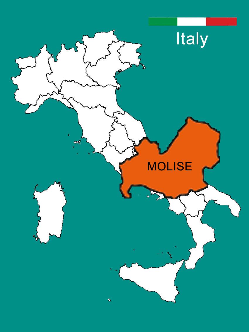 Molise Cartina Italia.Italia Mappa Molise Cartina 02 Moliseinvita