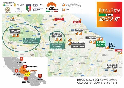 Cartina Molise Dettagliata.La Scandinavia Corre In Molise Con L Orienteering E Fa Tappa A Montorio Nei Frentani Opportunita Incredibili Per Il Turismo Moliseinvita