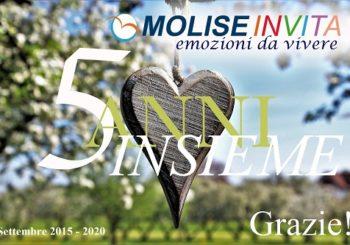 Moliseinvita compie 5 anni: impegno, ispirazione e gratitudine! Promozione del turismo nel Molise.